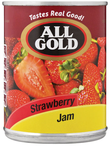 All Gold - Jam - Strawberry - 450g Cans