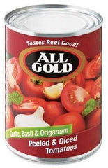 All Gold - Tomato Garlic Basil & Origanum