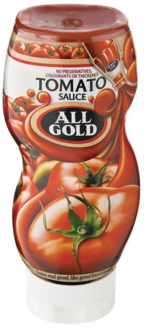 All Gold - Tomato Sauce Squeeze - 500ml Bottles
