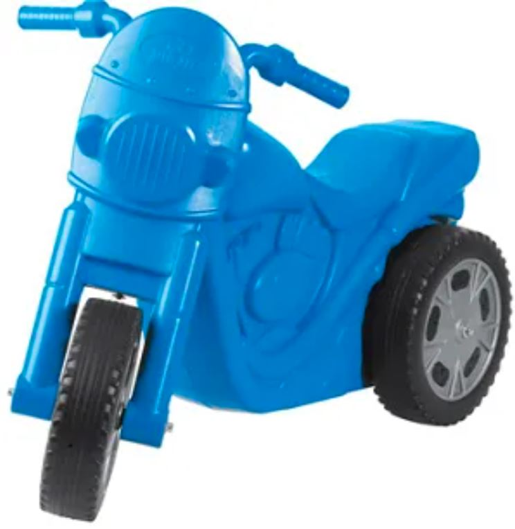 Big Jim - Scooter Fun -  Blue