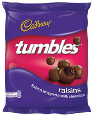 Cadbury - Tumbles - Chocolate Coated Raisins