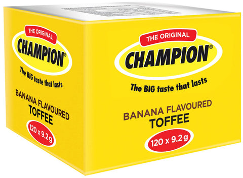 Champion - Toffees - Banana - 120 x 9gs