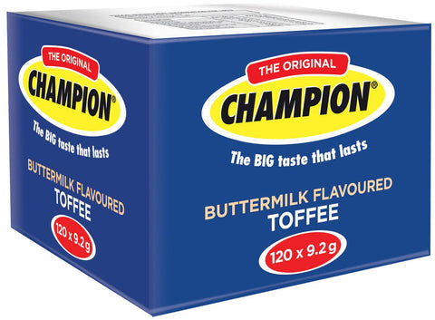 Champion - Toffees - Buttermilk - 120 x 9gs