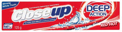 Closeup - Toothpaste - Red Hot