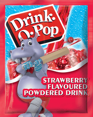 Drink O Pop - Strawberry Flavour