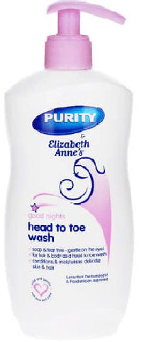 Elizabeth Anne - Head to Toe Wash - Fresh - 500g Bottle