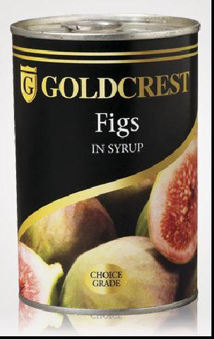 Gold Crest - Figs in Syrup - 415g Can