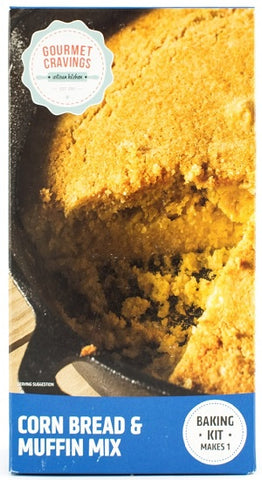 Gourmet Cravings - Corn Bread & Muffin Mix - 400g Box