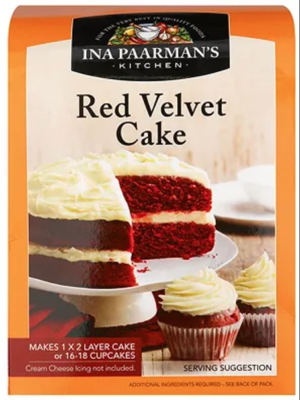 Ina Paarman - Bake Mix - Red Velvet Cake Mix