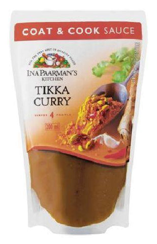 Ina Paarman's - Coat & Cook - Tikka Curry - 200ml Packs