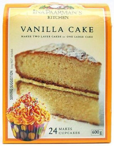 Ina Paarman's - Vanilla Cake Mix - 600g Boxes