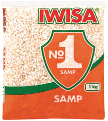 Iwisa - Samp - Dried corn kernels