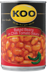 Koo - Baked Beans in Chilli Sauce