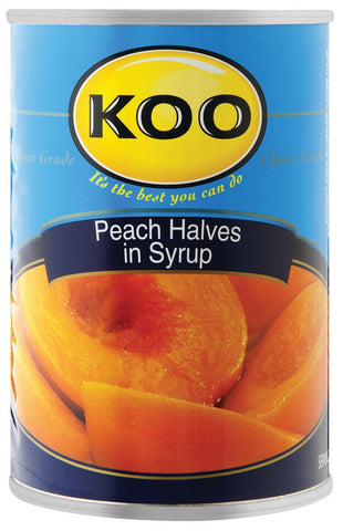Koo - Peaches - Halves - 410g Cans