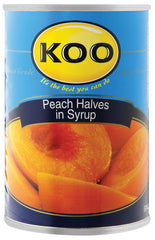 Koo - Peaches - Halves