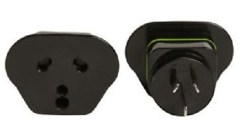 Korsjo - Plug Adapter - For South Africa or Indian plus to Australian or New Zealand walls - Unit
