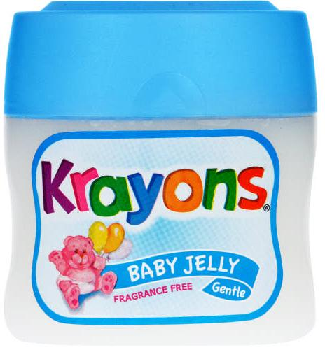Krayons - Baby Petroleum Jelly - Fragrance Free