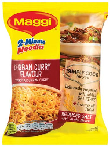 Maggi - 2-minute Noodles - Durban Curry flavour - 73g Packet
