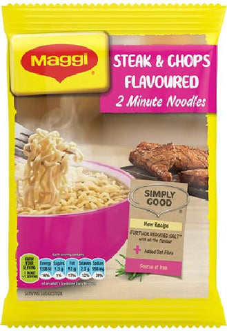 Maggi - 2-minute noodles - Steak & Chop Flavour - 73g