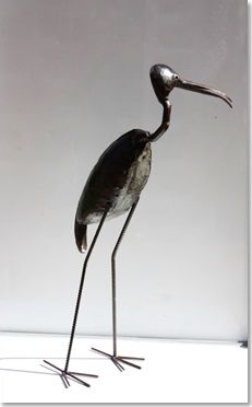 Metal Curios - Bird - Ibis - Unit