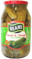 Miami - Pickles - Sweet & Tangy Cucumbers