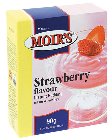 Moirs - Pudding - Strawberry - 90g Packs