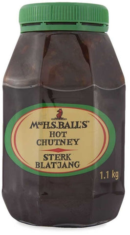 Mrs H.S. Ball's - Chutney - Hot - 1.1kg Jar (green)