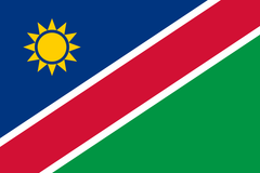 Namibian Flag - Stickers