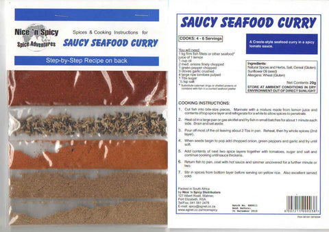 Nice 'n Spicy - Seafood Curry - Sachets