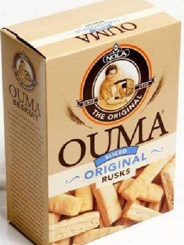 Ouma - Rusks - Sliced Plain - 450g Boxes