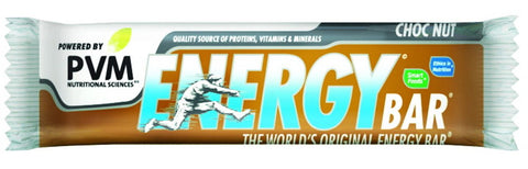 PVM - Energy Bar - Choc Nut - 45g Bars