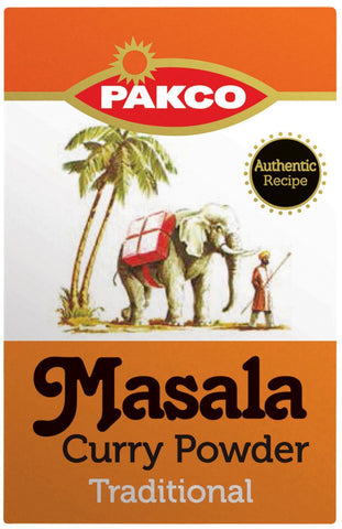 Pakco - Masala Curry Powder - Traditional - 100g Box