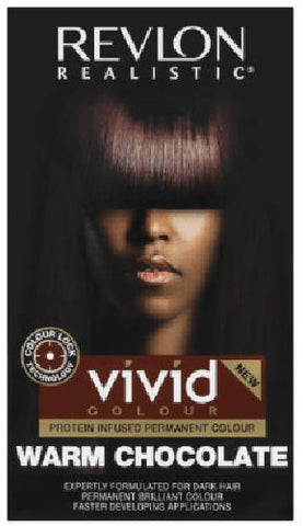 Revlon - Realistic - Vivid - Hair Colour - Warm Chocolate - 110ml