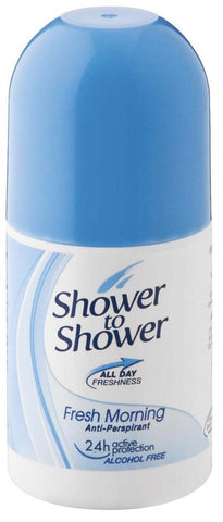 Shower to Shower - Antiperspirant Deoderant - Morning Fresh -  Roll-ons