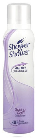 Shower to Shower - Deoderant - Ladies - Spring Rain - 150ml