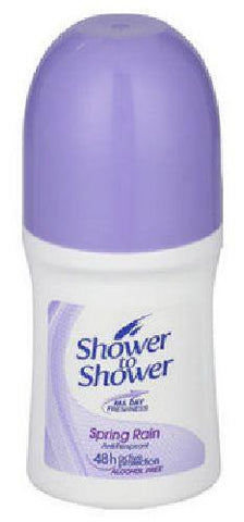 Shower to Shower - Roll on - Spring Rain (purple) - 50g Roll