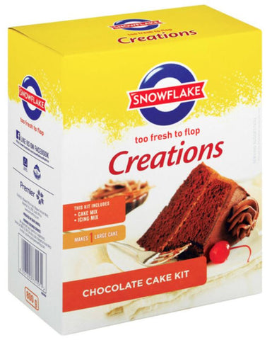Snowflake - Creations - Chocolate Cake - SPECIAL PRICE - 800g