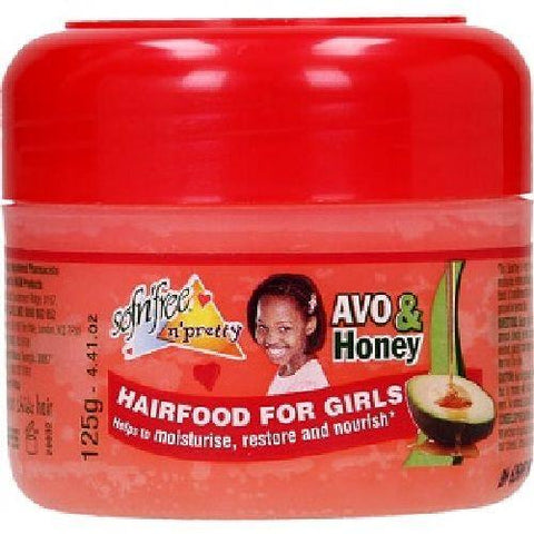 Sofn'Free n'Pretty - Avo & Honey Hairfood for Girls (Pomade) - 125ml