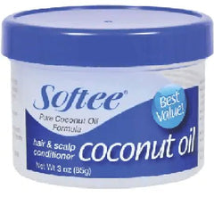 Softee - Hair & Scalp Conditioner - Coconut Oil