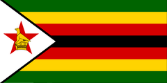 Stickers - Zimbabwean Flag