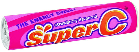 Super C - Strawberry - 24rolls Boxes
