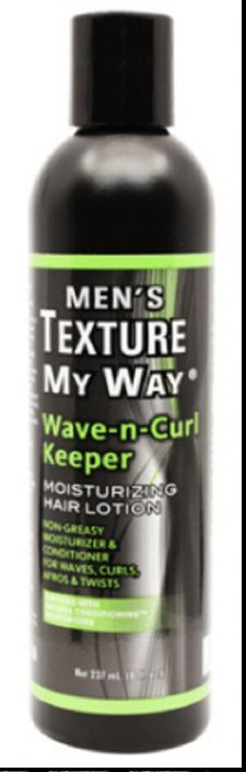 Texture My Way - Wave-N-Curl Keeper - Moisturing Hair Lotion - For Men