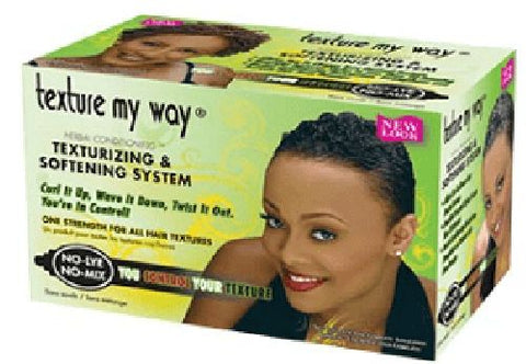 Texture my way - Texturising & Softening System - Women - pack