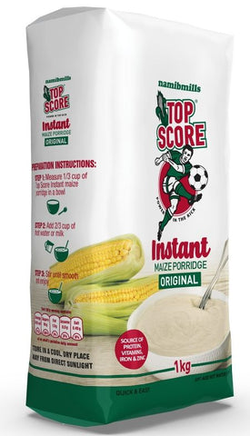 Top Score - Instant Porridge - Original - 1kg pack