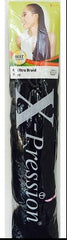 X-Pression - Ultra Braids - 2 - Black - Natural