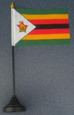 Zimbabwe Flag - Desk Stands