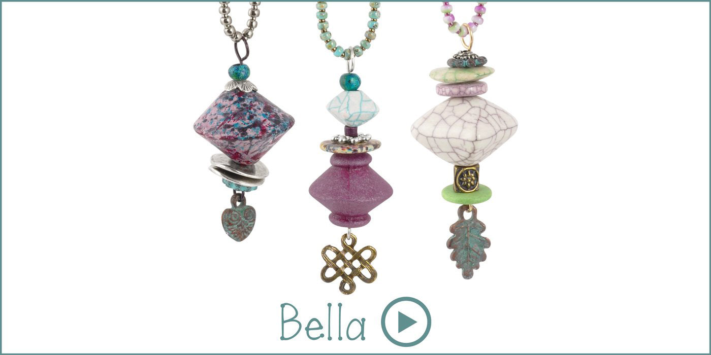 Bella Necklace Blog Amphora Beads