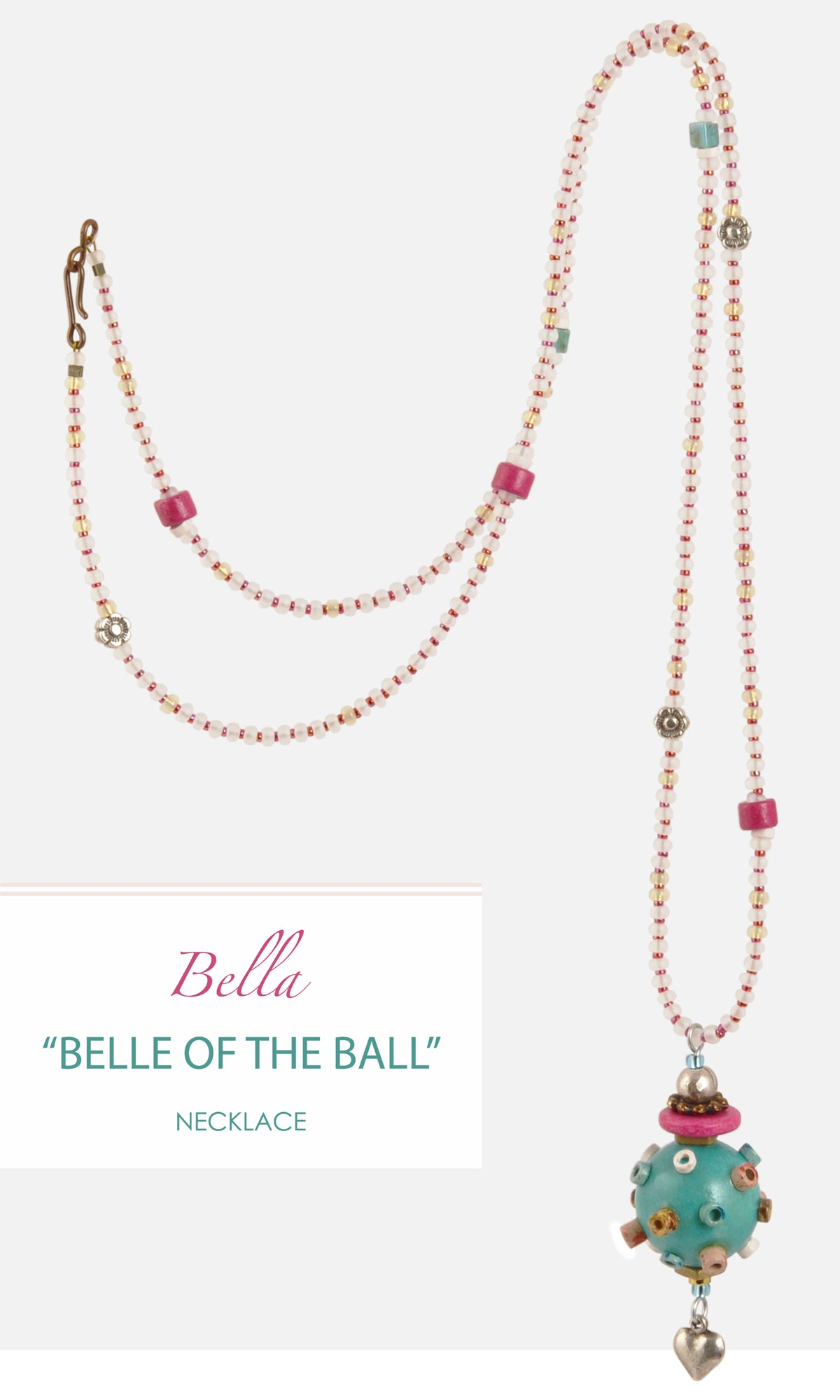 Belle of the Ball Necklace Amphora Beads