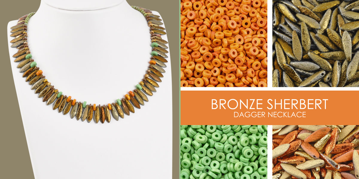 Bronze Sherbert Necklace Blog Amphora Beads