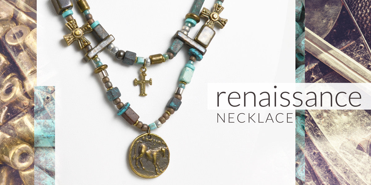 Renaissance Necklace Blog Amphora Beads